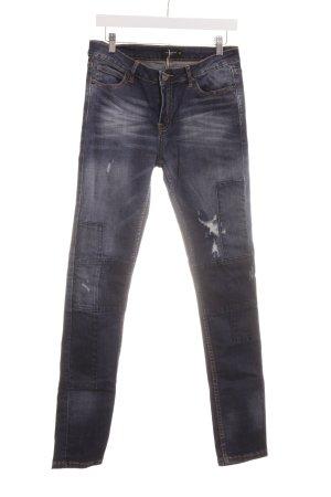 Liebeskind Berlin Skinny Jeans dunkelblau-himmelblau Casual-Look
