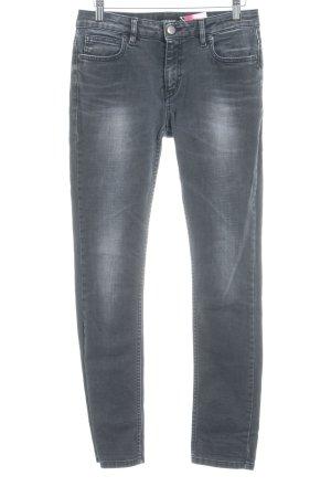 Liebeskind Berlin Skinny Jeans grau Bleached-Optik