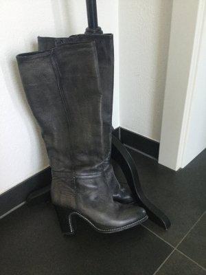 Liebeskind Berlin Stiefel grau anthrazit vintage Look Gr. 39 bis 40