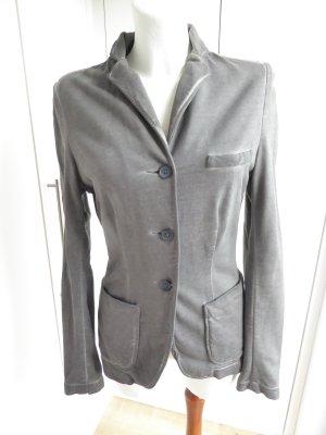 Liebeskind Berlin Sweat Blazer silver-colored cotton