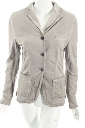 Liebeskind Berlin Sweatblazer hellgrau-wollweiß Washed-Optik