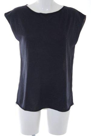 Liebeskind Berlin T-Shirt dunkelblau-graubraun Casual-Look