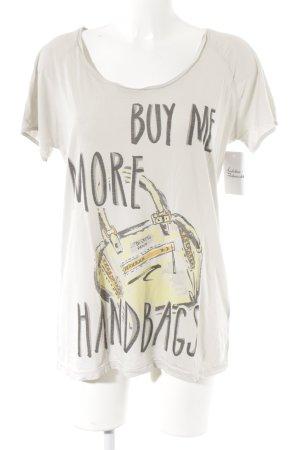Liebeskind Berlin T-Shirt Motivdruck Casual-Look