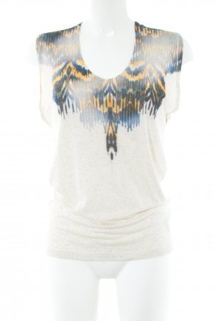 Liebeskind Berlin Tank Top abstract pattern casual look