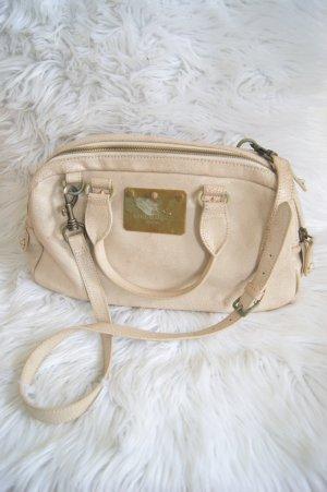 LIEBESKIND Berlin Tasche creme beige gold used Optik