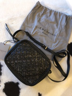 Liebeskind Berlin Tasche neu schwarz Mode Blogger Fashion clutch oil Black tampa