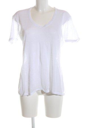 Liebeskind Berlin V-Ausschnitt-Shirt weiß Casual-Look