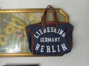Liebeskind Berlin Shopper pink-dark blue leather