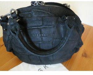 Liebeskind Berlin Bowling Bag black leather