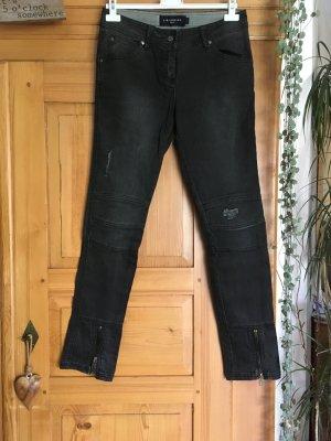 Liebeskind Jeans da motociclista grigio scuro