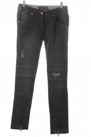 Liebeskind Jeans da motociclista nero Stile ciclista