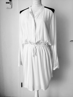 Liebeskind Blouse Dress white-black modal fibre