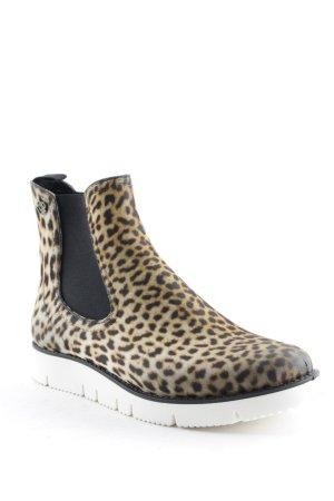 Liebeskind Chelsea Boot jaune foncé-noir motif animal imprimé animal
