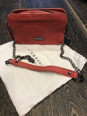 Liebeskind Clutch bright red leather