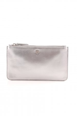 Liebeskind Clutch silver-colored casual look