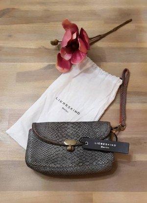 Liebeskind Clutch Valentina - light grey snake -