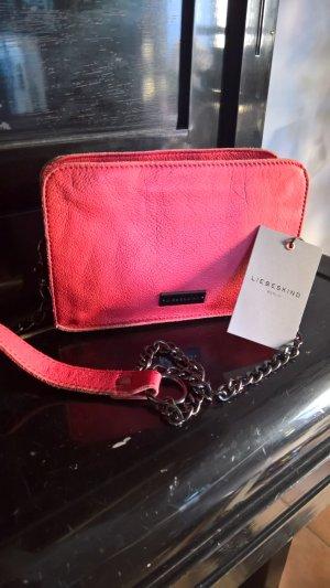 Liebeskind Mini sac rouge fluo-rouge foncé cuir