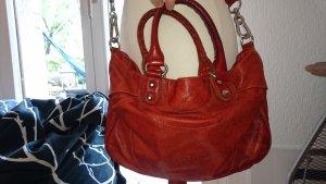 Liebeskind echtleder Tasche Orange bis Rostfarben, super Zustand