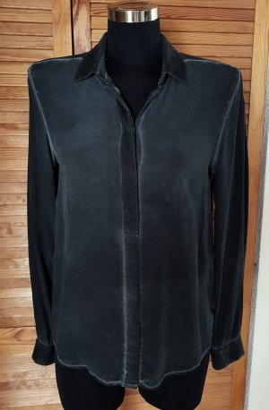 Liebeskind Silk Blouse anthracite silk