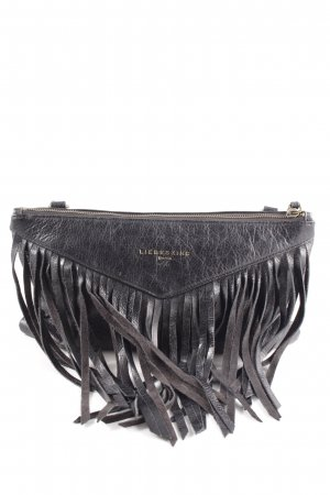 Liebeskind Fringed Bag black Aztec print