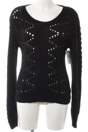 Liebeskind Pullover a maglia grossa nero-grigio stile casual