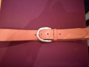Liebeskind Leather Belt salmon