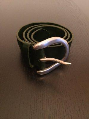 Liebeskind Gürtel LBK 501, dunkelgrün 85 cm Lang