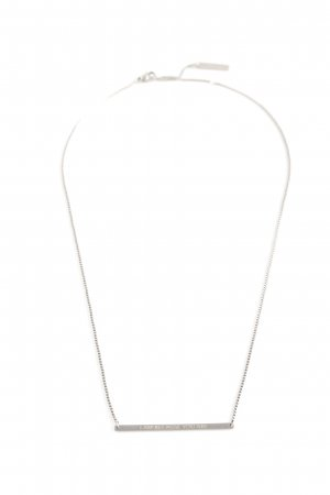 Liebeskind Collier argenté style simple