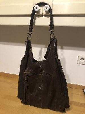 Liebeskind Shoulder Bag black brown