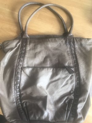 Liebeskind Frame Bag grey brown leather