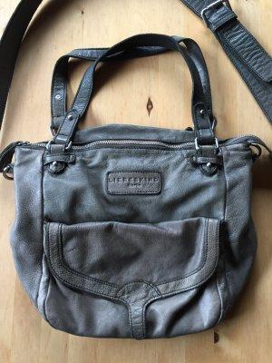 Liebeskind Handtasche älteres Modell graugrün