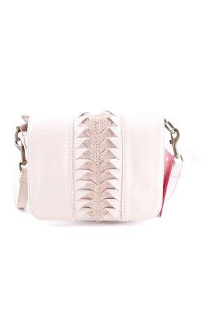 Liebeskind Handtas stoffig roze vintage uitstraling