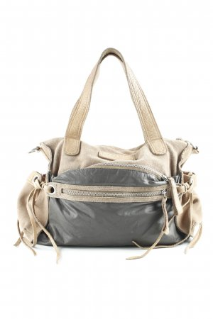 Liebeskind Handbag camel-grey brown Boho look