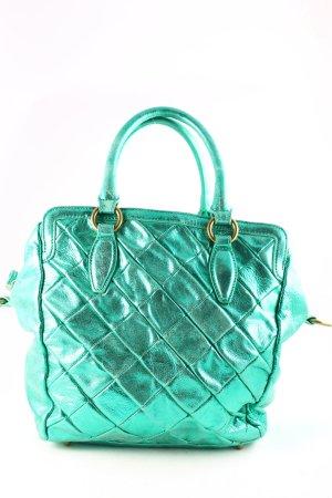 Liebeskind Handtasche grün-goldfarben extravaganter Stil