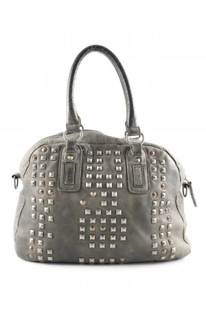 Liebeskind Handbag light grey graphic pattern casual look