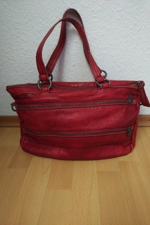 Liebeskind Berlin Handbag red leather