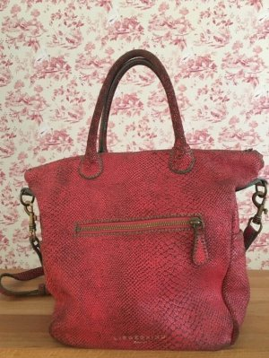 LIEBESKIND HANDTASCHE ROTES LEDER in Used Optik