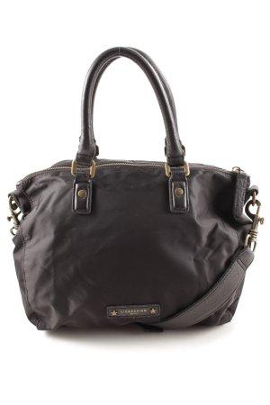 Liebeskind Handtasche schwarz Webmuster Casual-Look