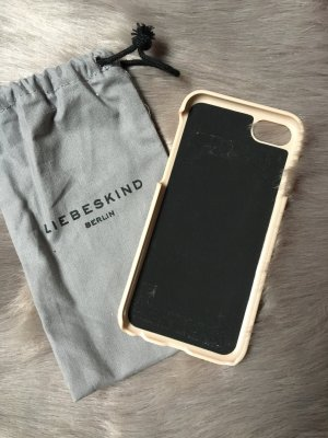 Liebeskind Mobile Phone Case cream leather