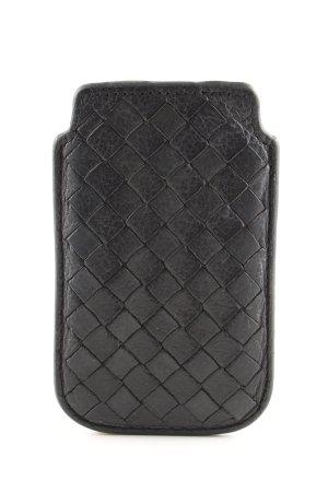 Liebeskind Carcasa para teléfono móvil negro estampado acolchado
