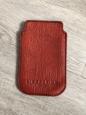 Liebeskind Hoesje voor mobiele telefoons donkerrood-roodbruin
