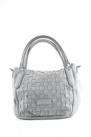 Liebeskind Carry Bag grey weave pattern casual look