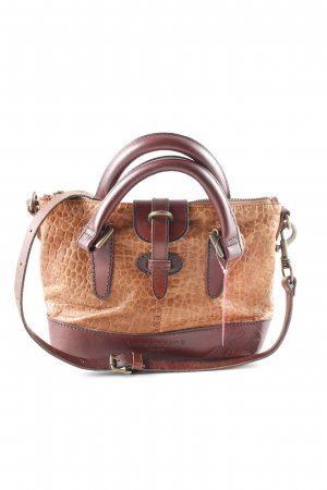 Liebeskind Carry Bag light brown-cognac-coloured animal pattern casual look