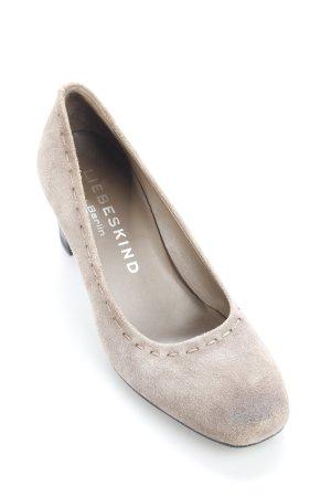Liebeskind Tacones altos marrón grisáceo estilo clásico