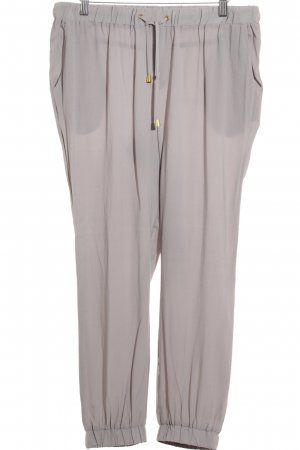 Liebeskind Low-Rise Trousers grey wet-look