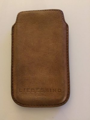 Liebeskind Berlin Mobile Phone Case brown leather