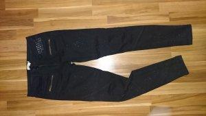 Liebeskind Jeans met rechte pijpen zwart