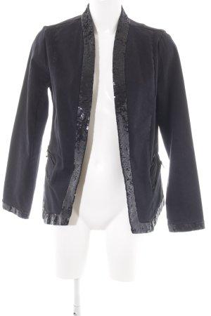 Liebeskind Veste en jean noir élégant