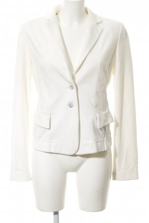 Liebeskind Blazer en jersey blanc style décontracté