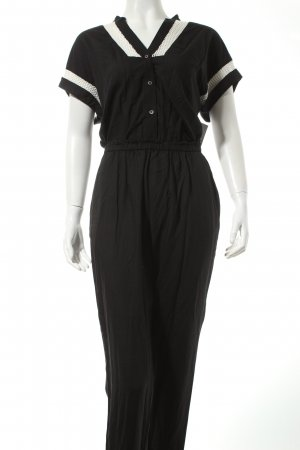 Liebeskind Jumpsuit black-white casual look